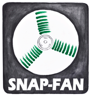 Snap-Fan; Solar Hobby Greenhouse Fans